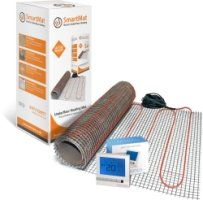 SmartMat 150w/m2 10.0m2 1500w Underfloor Heating Kit + Harmoni 25 Thermostat
