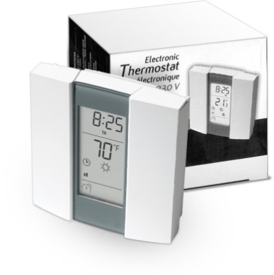 Aube TH232 Switchable Sensing Programmable Thermostat