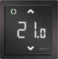 DEVIreg Smart Programmable Thermostat - Black