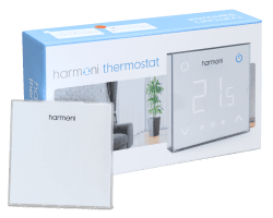 Harmoni 100w/m2 - 0.5m2 50w Underfloor Heating Kit + Harmoni HTP100 Wi-Fi Programmable Thermostat