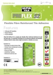 ProFlex S2 Technical Data Sheet